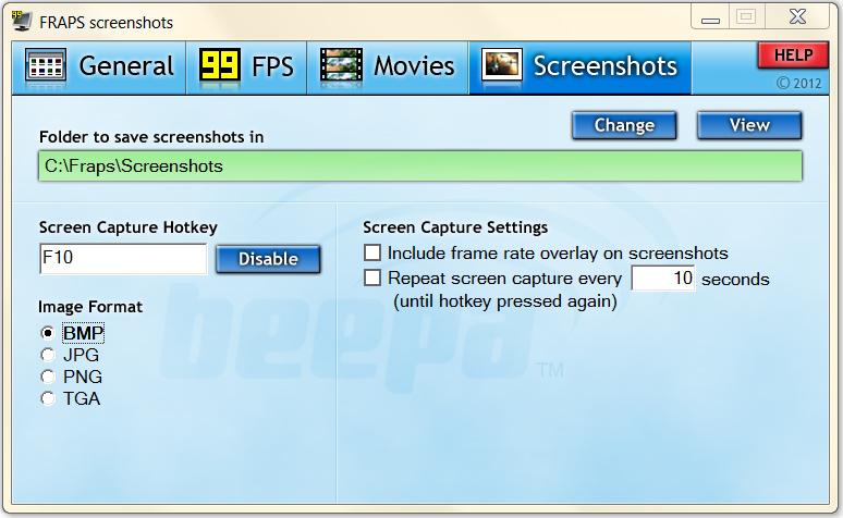 программа для сохранения скриншотов экрана в папку - фото 9