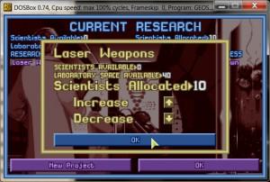 Исследования в старом XCOM