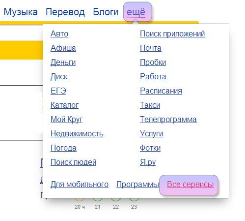 Yandex else