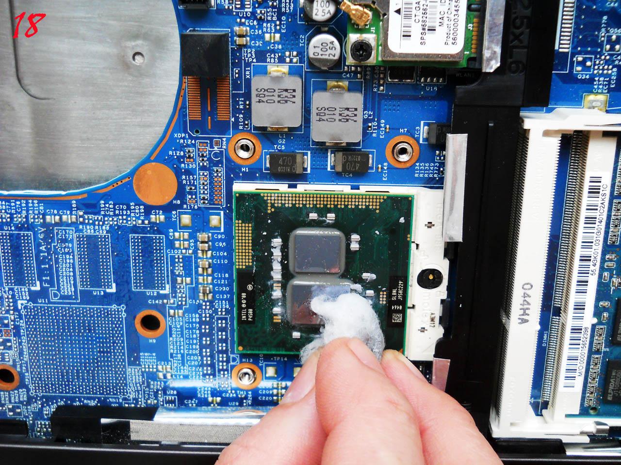 Чистка ноутбука HP ProBook