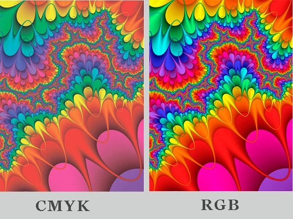 Также в отличие от RGB,