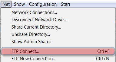 FTP Connect...