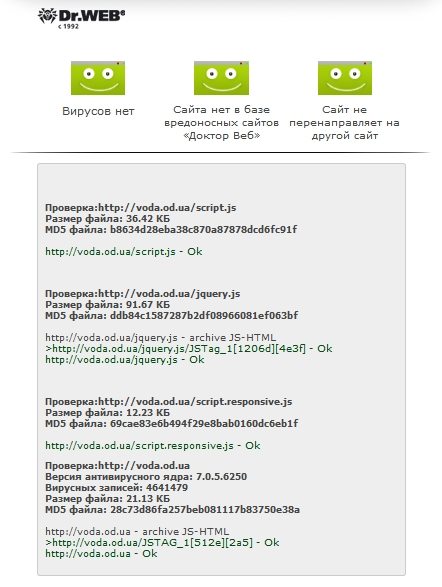 Онлайн антивирусы