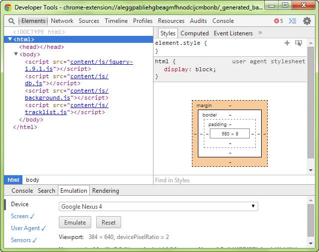 Chrome Apps Extensions Developer Tool