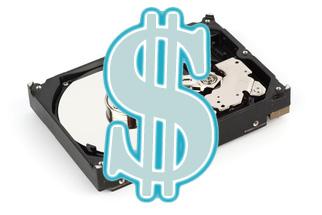Стоимость жесткого диска