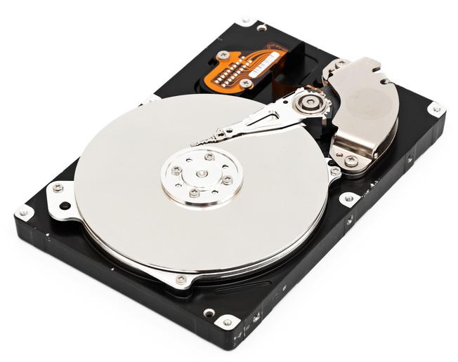 Hard disk open