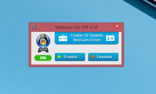 Утилита WebCam on – Off