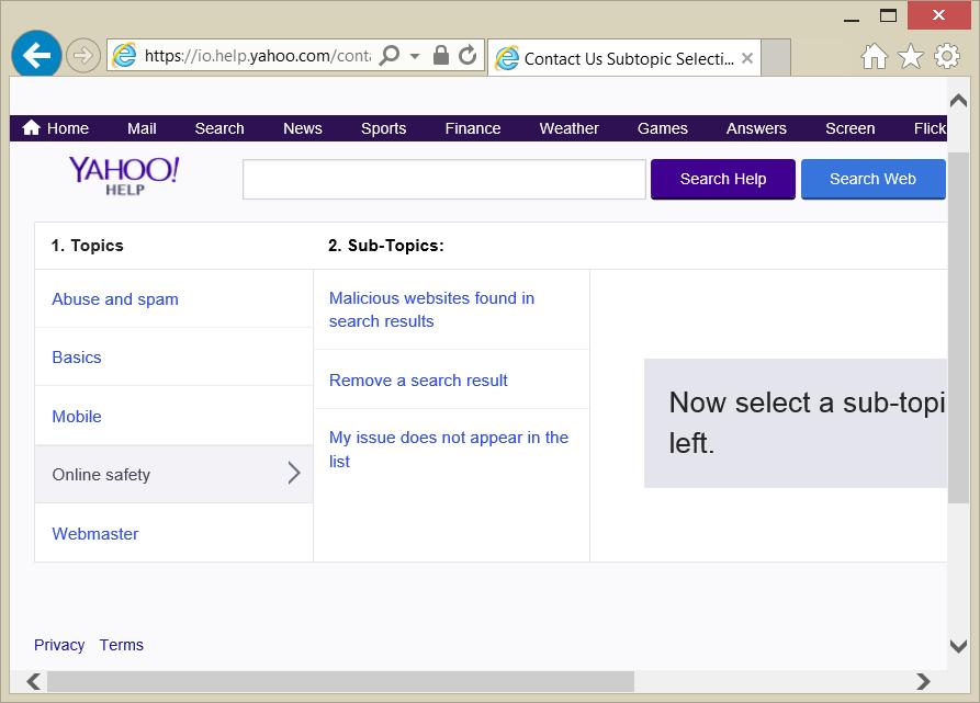 Поисковая система Yahoo!