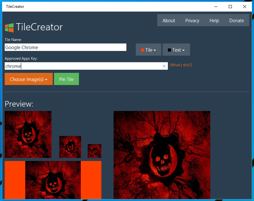 TileCreator