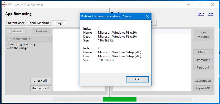 WindowsXAppRemover
