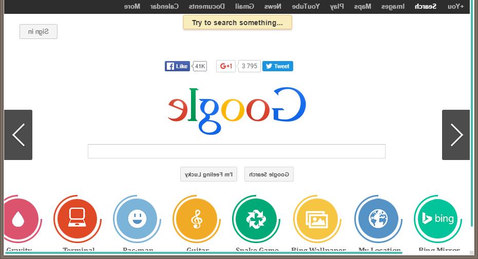 Google в зазеркалье