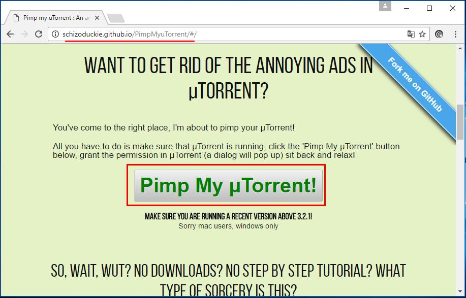 Pimp My µTorrent