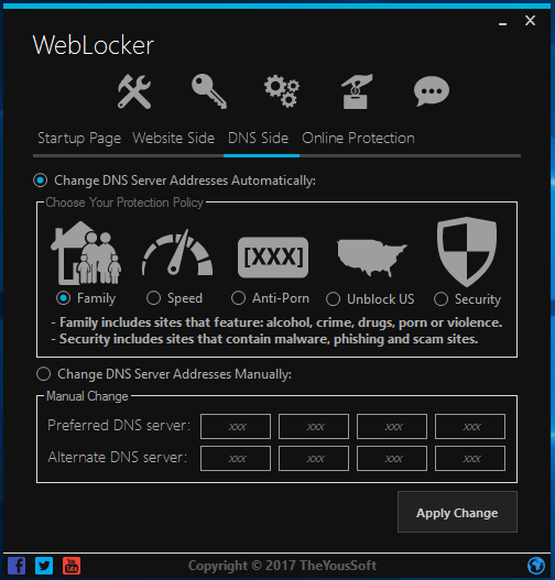 WebLocker