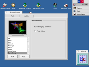 BeOS 5.0 Personal Edition