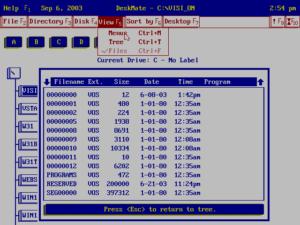 Tandy DeskMate 3.05