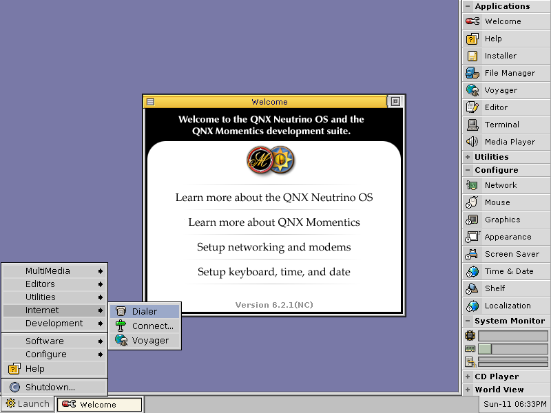 QNX 6.2.1