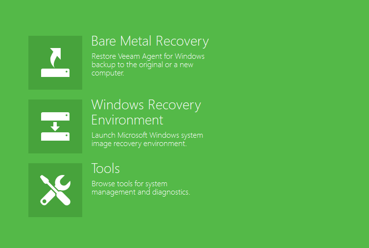 Bare Metal Recovery