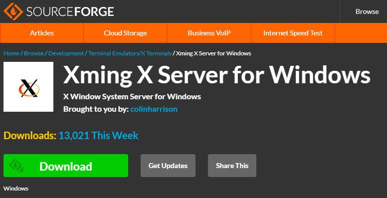 Xming X Server