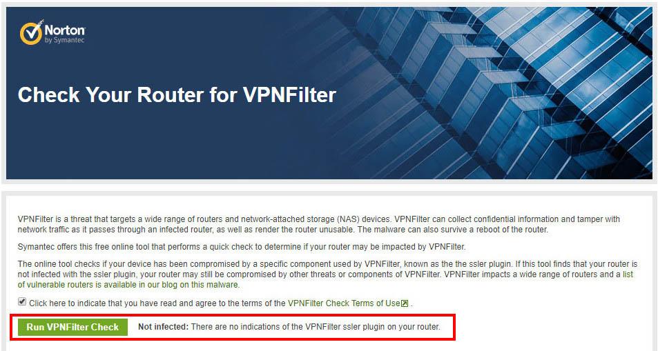 VPNFilter Check