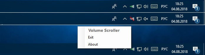 Volume Scroller