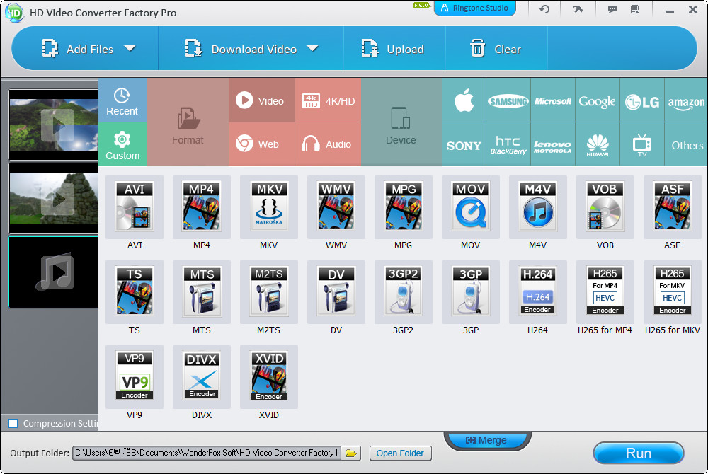 WonderFox HD Video Converter Factory