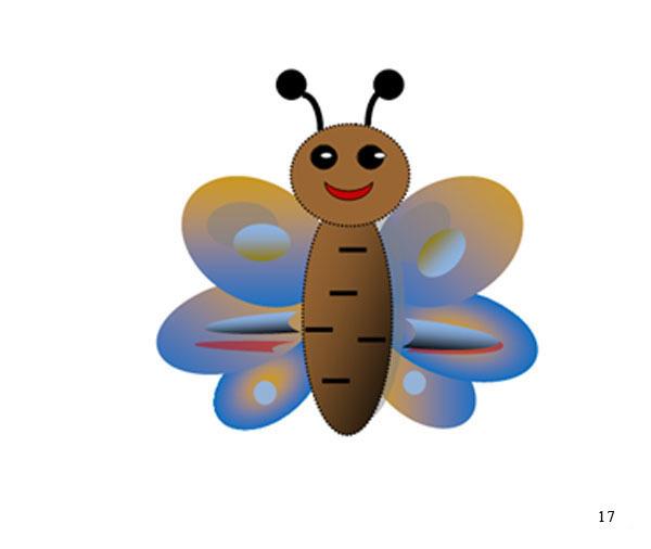 Рисование бабочки