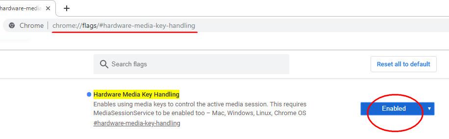 Media-key-handling