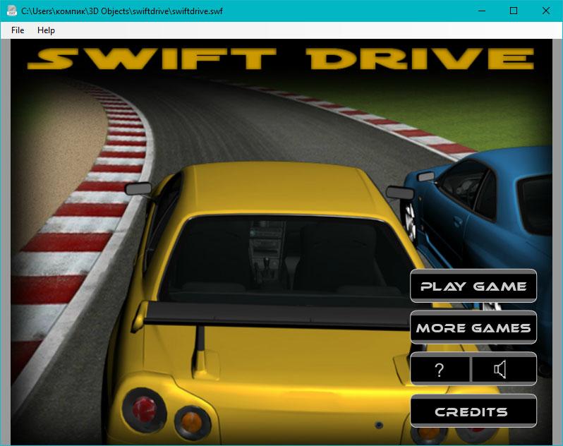 SWF File Player