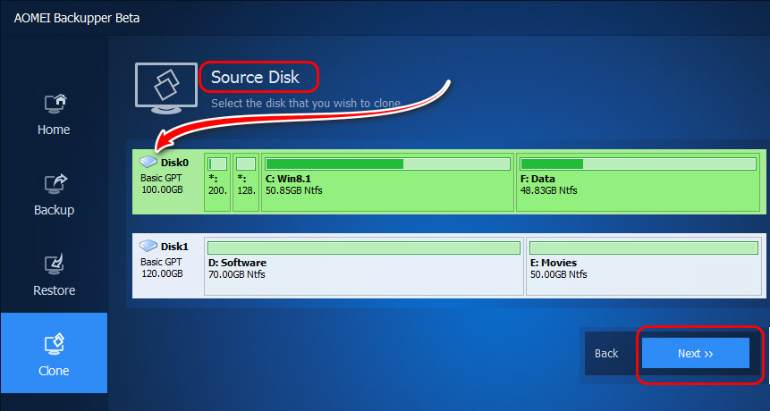 Source Disk