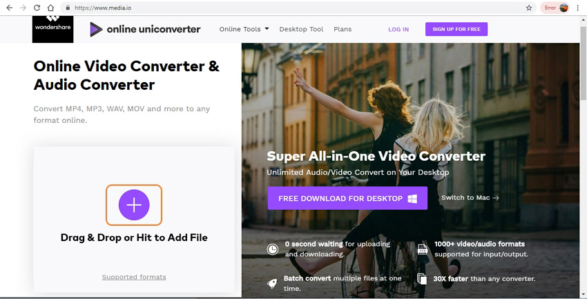 Online Video Converter - uniconverter