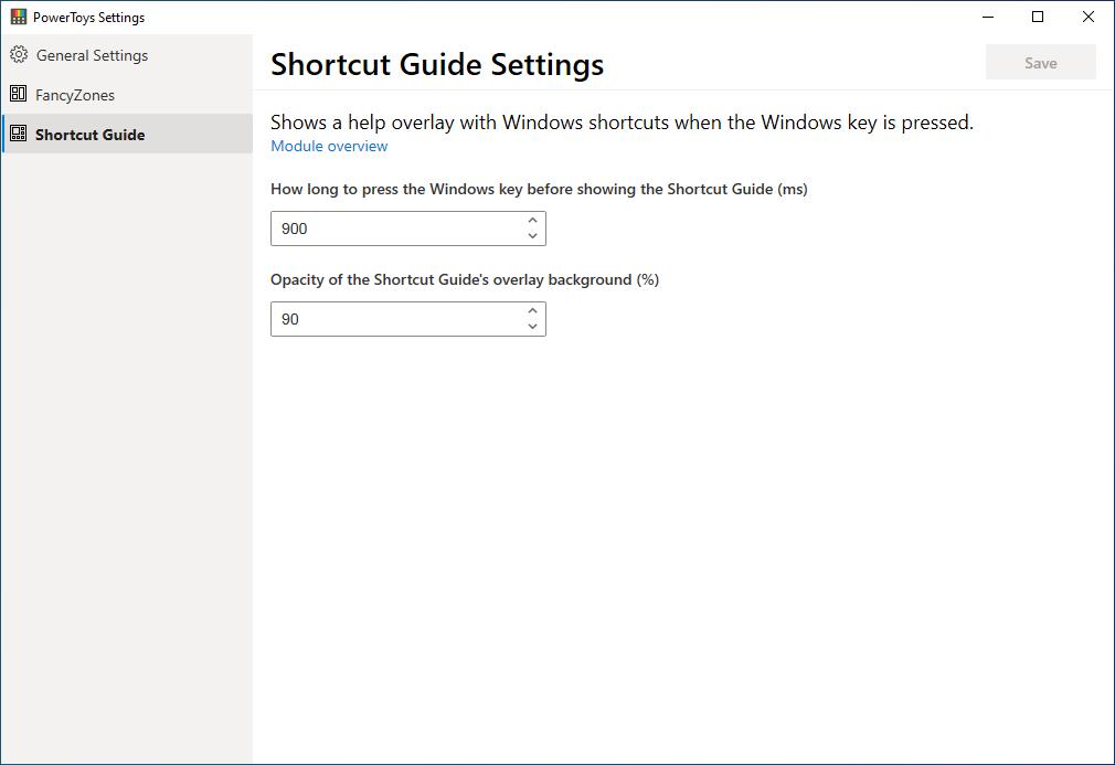 Shortcut Guide