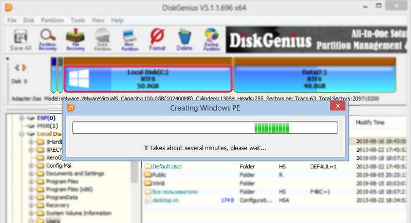Creating Windows PE