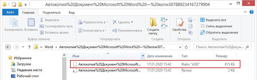 Файл АвтокопияXXX.asd