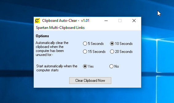 Clipboard Auto-Clear