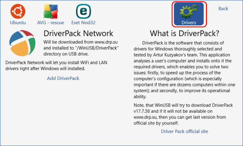 DriverPack Network
