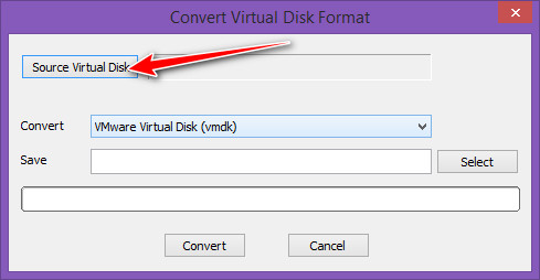 Source Virtual Disk