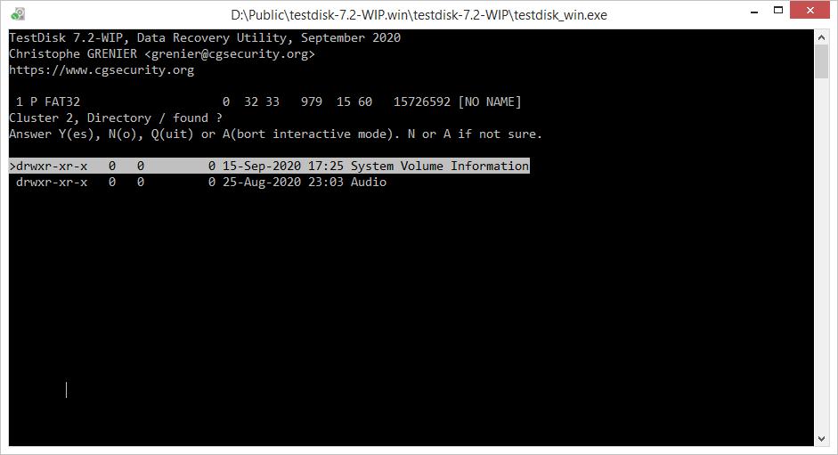 TestDisk 7.2-WIP
