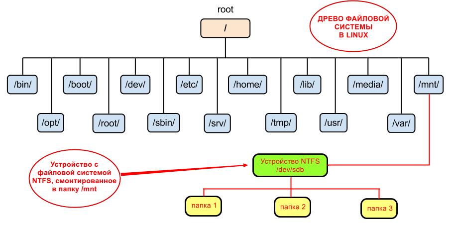 Дерево файловой системы