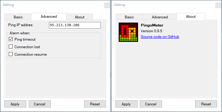 PingoMeter