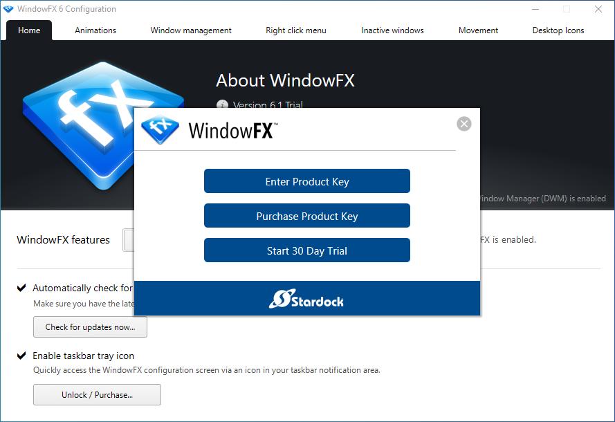WindowFX