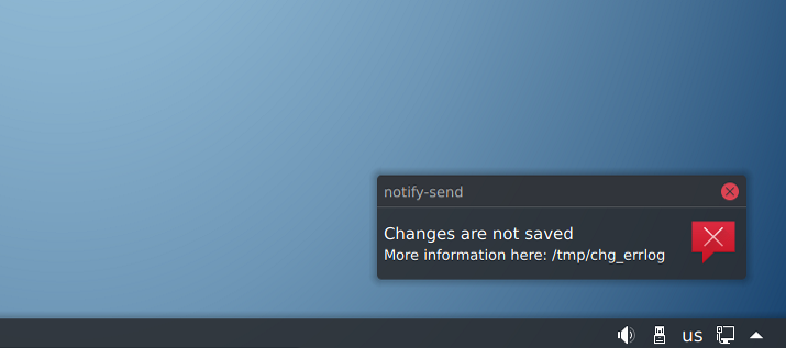 Changes are not Saved