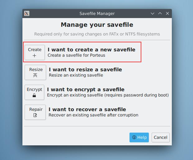 New savefile